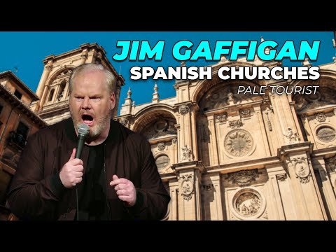 """""""Churches and Castles in Spain"""" - Jim Gaffigan Stand up (Pale Tourist)"""