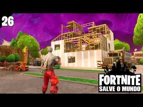 FORTNITE SALVE O MUNDO #26 - Bora Construir