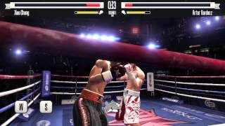 Real Boxing gameplay  Road to Silver belt (complete) (PC Tastatur)
