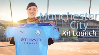 Etihad Airways | Manchester City Kit Launch