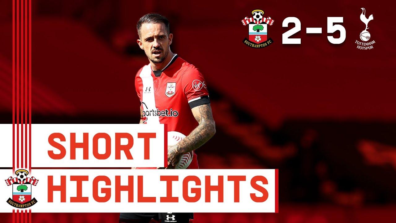 90-SECOND HIGHLIGHTS: Southampton 2-5 Tottenham Hotspur