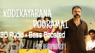 Kodikayarana Pooramai | 3D Binaural Audio | Use Headphones |  ആട് | Mixhound 3D Studio