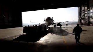 Nordstar Boeing 738 выкатка из тёплого ангара Емельяново(, 2016-01-08T12:05:31.000Z)