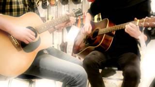 в серебристый сон, ты бы с ним ушел... (в гитарном магазине