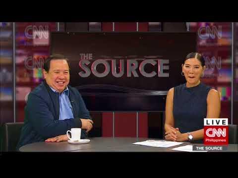 'The Source' speaks to Senator Richard Gordon