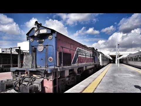 Sousse to Sfax - Tunisia / スースからケルケナ諸島へ列車移動(チュニジア)