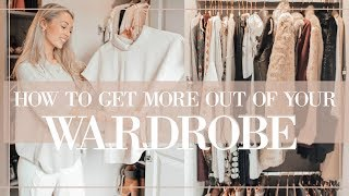 7 STYLE HACKS TO GET MORE OUT OF YOUR CLOTHES / WARDROBE  // Fashion Mumblr