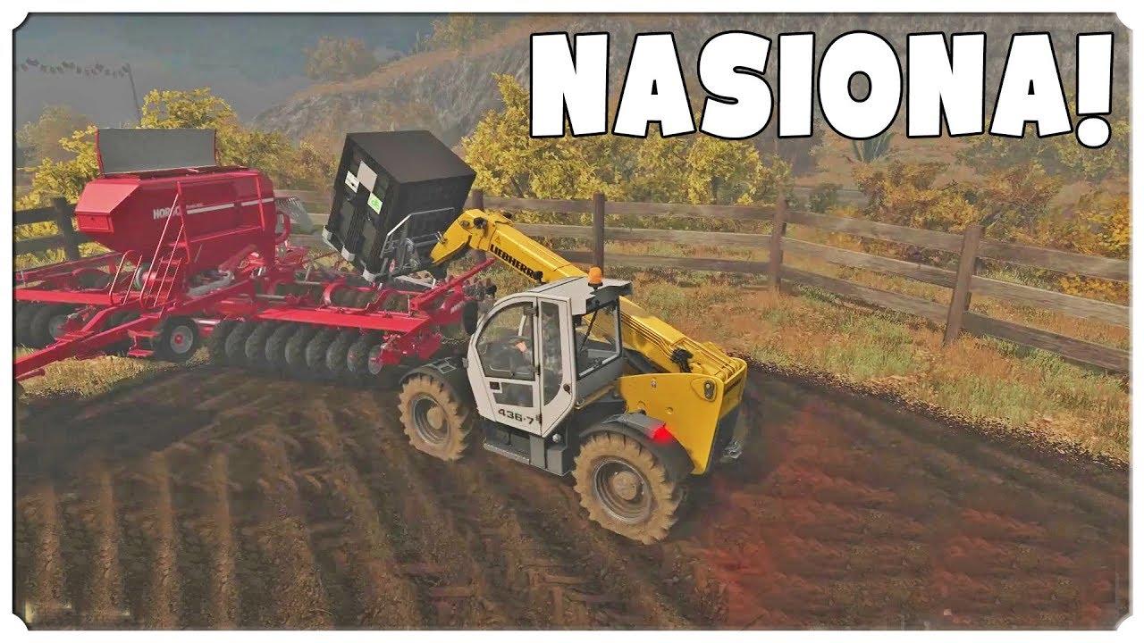 Farming Simulator 17 – Uzupełniamy siewniki!