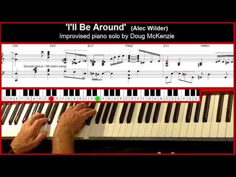 I'll Be Around - jazz piano tutorial