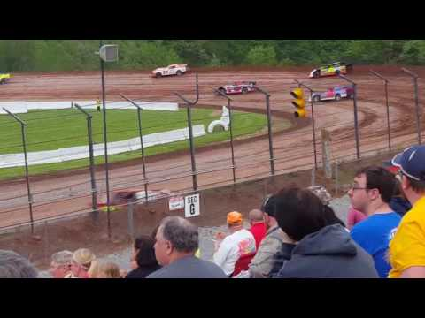 Lernerville speedway stock feature #1  5/19/17