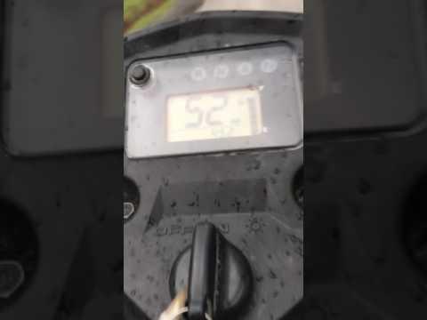 2017 Suzuki 400 king quad top speed (57 mph)