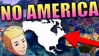 EU4 NO AMERICA! | Europa Universalis 4 [Mod Gameplay] - No New World!