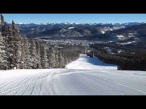 Peak 9 - Breckenridge Ski Resort In Colorado - 12/25/2013