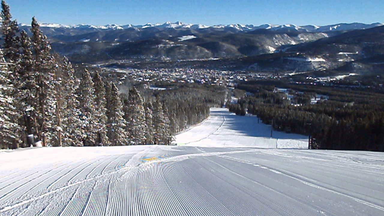 peak 9 - breckenridge ski resort in colorado - 12/25/2013 - youtube
