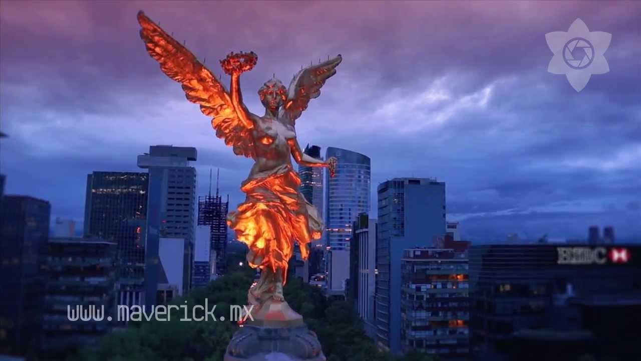 Angel de la Independencia y Diana Cazadora, Maverick ...