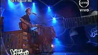 OJOS AZULES - DANIEL LAZO (LA VOZ PERÚ)