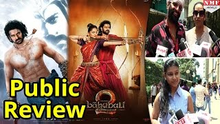 Public Review Of 'Bahubali 2 :The Conclusion' | Prabhas, Rana Daggubati