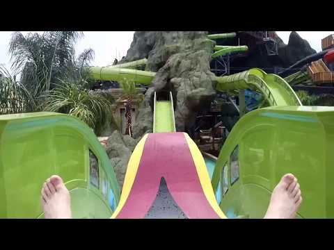 Krakatau Aqua Coaster On Ride