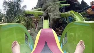 Krakatau Aqua Coaster On Ride
