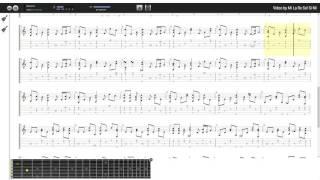 Bài Ca Tình Yêu - Thành Vương (tab guitar truong thon 1234)