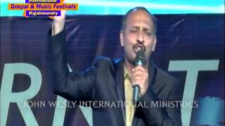 Neevunte naku chalu song By pastor Caleb at International Music festivels