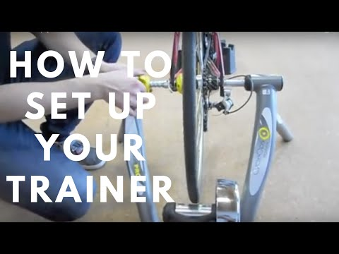 How To Setup Your Cycling Trainer For Indoor Biking