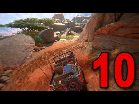 Uncharted 4 Walkthrough - Chapter 10 - The Twelve Towers (Playstation 4 Gameplay)