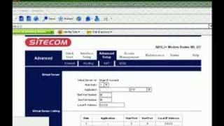 [Guida]Sbloccare le porte del Router Sitecom