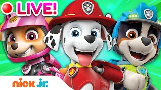 🔴 PAW PATROL Moto Pups, Dino Rescues & More! | Nick Jr.