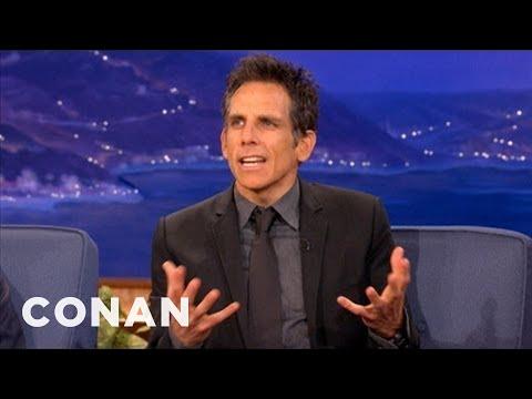 Ben Stiller Recently Came Out As A Miserable Vegan - CONAN on TBS