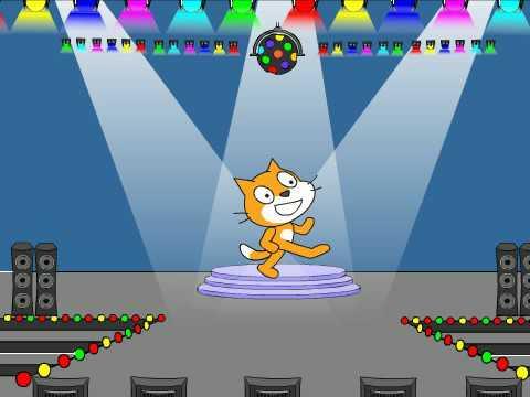 Scratch | Dancing Cat