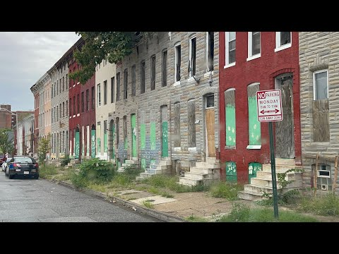 The Real Streets Of Baltimore Maryland 💯