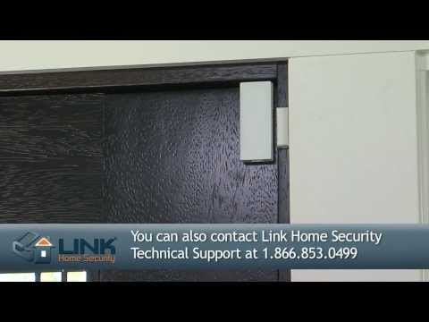 How To Install 2GIG Thin Door/Window Contact (Link Interactive)