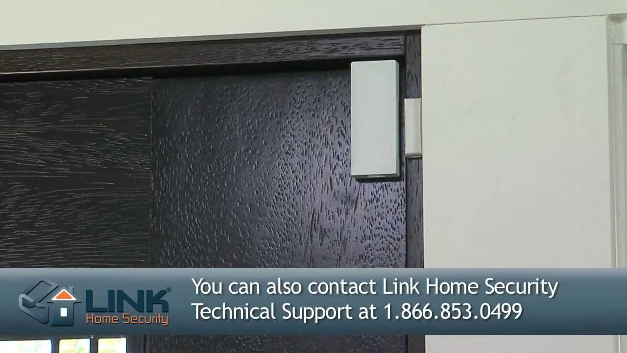 How To Install 2gig Thin Door Window Contact Link