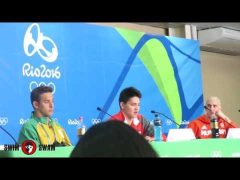 Rio 2016 100 fly press conference