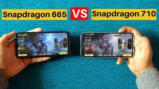 Snapdragon 665 Vs Snapdragon 710? Which is Better?? Realme x Vs Redmi  note 8 !