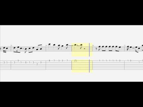 Guitar Tab - When I Was Your Man - Slow Version - with Notes