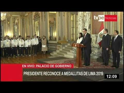 Medallistas peruanos de Lima 2019 son un referente para el país, dice presidente Vizcarra