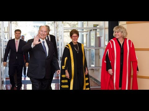 University of Calgary - Conferral of Honorary Doctor of Laws on the Aga Khan 2018