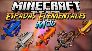 Minecraft PE 0.14.0 MODS | ELEMENTAL SWORDS V4 MOD PARA MINECRAFT PE (POCKET EDITION) 0.14.0
