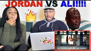 "Epic Rap Battles of History ""Michael Jordan vs Muhammad Ali"" Reaction!!!"
