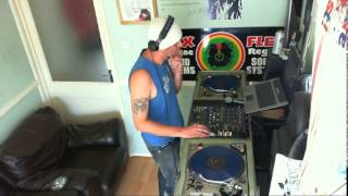 Dj Flex On The high on love riddim & sitting and waiting riddim