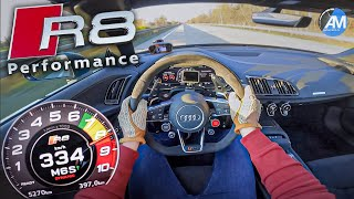 Audi R8 Performance   0-335 Km/h Acceleration🏁   By Automann In 4K