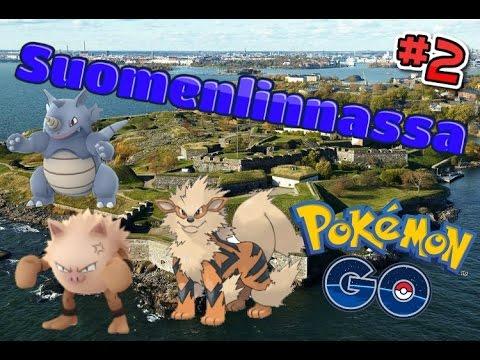 Pokemon go suomi Pokemonia Suomenlinnassa! #2 ARCANINE WILDINÄ! - YouTube