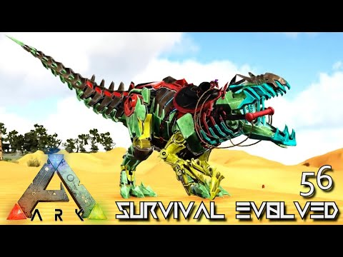 ARK: SURVIVAL EVOLVED - ASCENDED CELESTIAL ARGY WYVERN & TEK GIGA !!! | PRIMAL FEAR ISO C ISLES E56