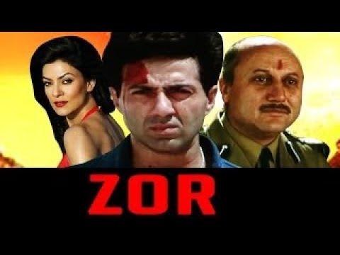 Zor (1998) Hindi | Sunny Deol, Sushmita Sen, Milind Gunaji, Om Puri, Anupam Khe