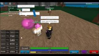 Roblox-Fairy Tail Forgotton legends-All celastial magic's sprits