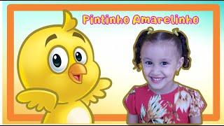 PINTINHO AMARELINHO - MI POLLITO AMARILLITO - CANÇÃO INFANTIL - GALINHA PINTADINHA BIA E HENRY KIDS