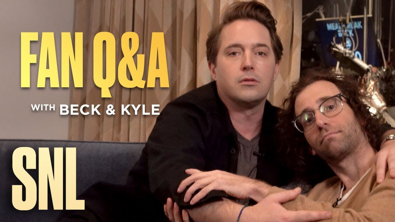 SNL Fan Q&A with Beck Bennett and Kyle Mooney