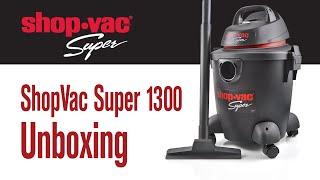 ShopVac Super 1300 - unboxing